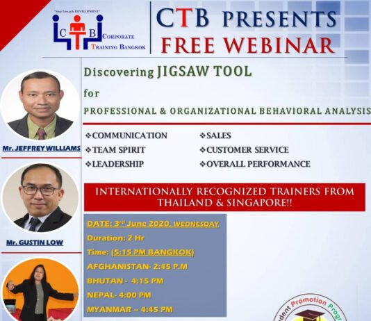 Corporate Training Bangkok Free Webinar