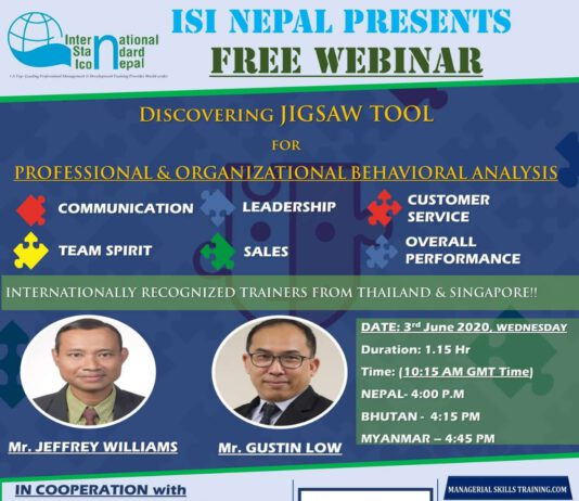 Free International Webinar by ISI Nepal